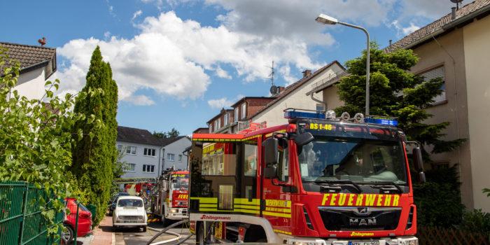 Ausgedehnter Küchenbrand sorgt für Räumung eines Mehrfamilienhauses in Bad Soden am Taunus